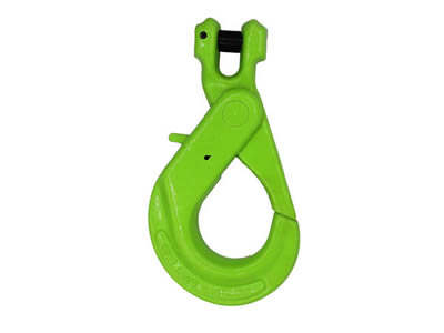 G80 Italian Type Clevis Self-Locking Hook